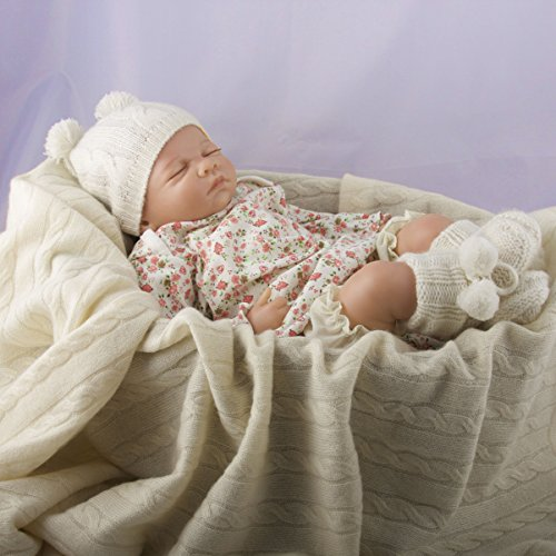 Lucky Bird Cashmere Baby Blanket, Cream by Lucky Bird Cashmere (Image #6)