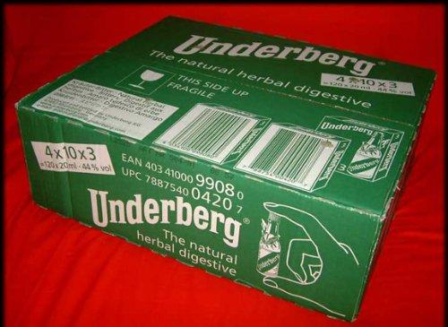 Case Pack: 3 Underberg Bottles each by Underberg