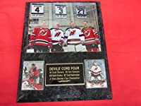Scott Stevens Martin Brodeur Niedermayer Daneyko New Jersey Devils 2 Card Collector Plaque w/8x10 Photo GREAT PHOTO