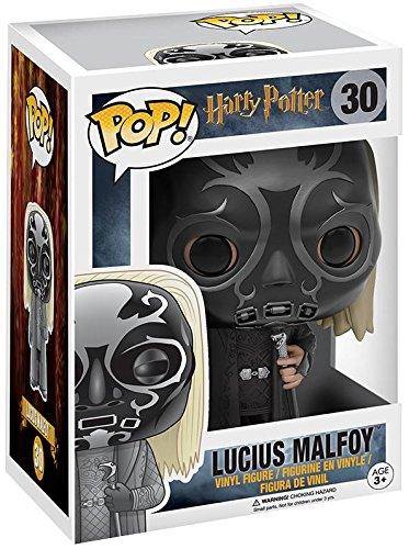 Funko POP Harry Potter: Lucius Malfoy: Death Eater Mask Hot Topic Exclusive #30
