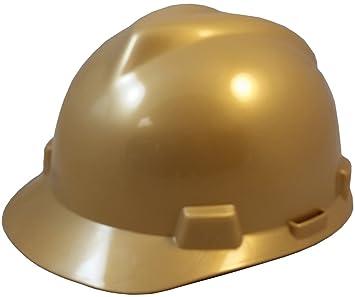 MSA V-Gard One Touch suspensión Cap Estilo duro sombreros: Amazon.es: Bricolaje y herramientas