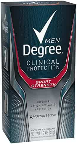 Degree Men Clinical Antiperspirant Deodorant, Sport Strength 1.7 oz (Pack of 2)