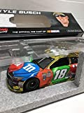 Low Serial #008 ColorChrome Color Chrome Lionel Racing Kyle Busch #18 MM's M&Ms 2016 Camry 1/24 1:24 Scale ARC HOTO Only 108 Made Individually Serialized...Hood Opens Trunk Opens