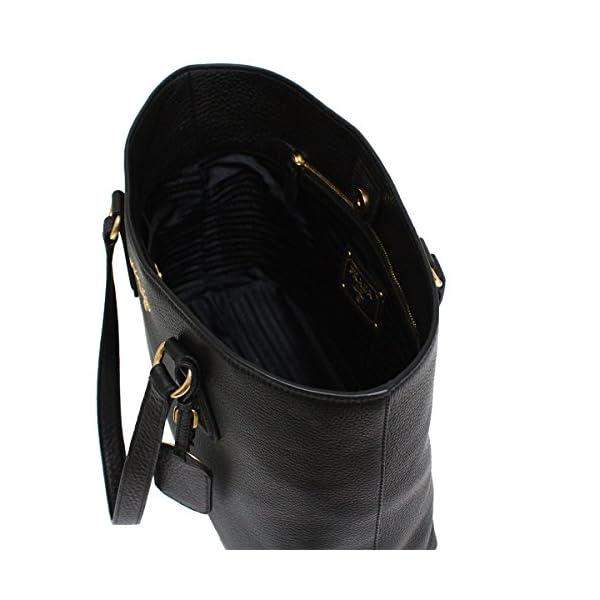 c247ca215ea9 Prada Women's Black Vitello Phenix Shopping Tote 1BG043   Luxury ...