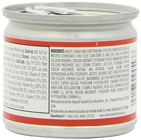Amazon.com: Boost Nutritional Vanilla Flavor Ready to Use Pudding 5 oz. Can [Pack of 4] by Nestle Healthcare Nutrition: Health & Personal Care