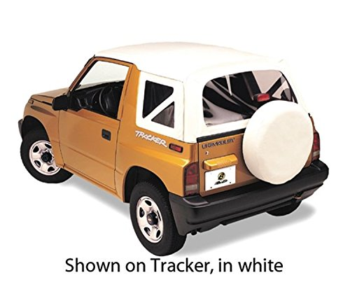 (Bestop 51364-01 Black Crush Replace-A-Top Soft Top Clear Windows; No Door Skins Included for 1995-1998 Suzuki Sidekick)