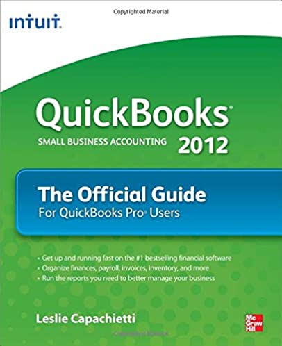 amazon com quickbooks 2012 the official guide quickbooks the rh amazon com 2014 W-2 Form Printable Learning QuickBooks 2014