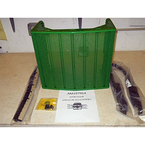 Tractor Grill Seal : Jd grille with medallions latch seals for