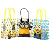 Despicable Me Minions Premium Quality Party Favor Goodie Small Gift Bags 12