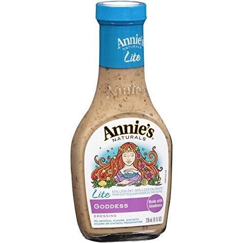 - Annie's Gluten Free Lite Goddess Dressing Lite 8 fl oz Bottle