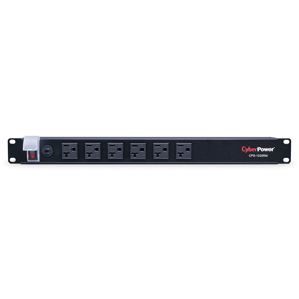 Cyberpower CPS-1220RMS Rackmount PDU Power/Surge Strip - 12-Outlet 20A 2400VA 1800 Joules Cyber Power CPS1220RMS Power Equipment