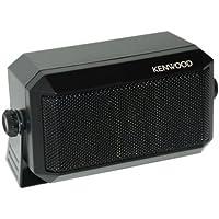 Kenwood Original KES-3(S) External Speaker - Max. Input Power: 5 Watts, Impedance: 4 Ohms, Plug: 3.5mm, Dimension (W x H x D): 114 x 66 x 55 mm (4 1/2 x 2 19/32 x 2 5/32), Weight: 350g. (0.77 lbs)
