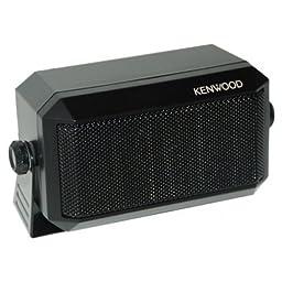 Kenwood Original KES-3(S) External Speaker - Max. Input Power: 5 Watts, Impedance: 4 Ohms, Plug: 3.5mm, Dimension (W x H x D): 114 x 66 x 55 mm (4 1/2\