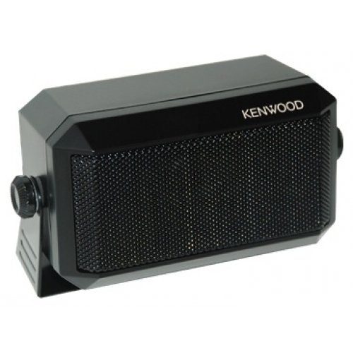 Kenwood Original KES-3(S) External Speaker - Max. Input Power: 5 Watts, Impedance: 4 Ohms, Plug: 3.5mm, Dimension (W x H x D): 114 x 66 x 55 mm (4 1/2'' x 2 19/32'' x 2 5/32''), Weight: 350g. (0.77 lbs) by Kenwood