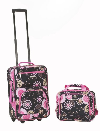 Rockland Luggage 2 Piece Set, Pucci, (Pucci 2 Piece)