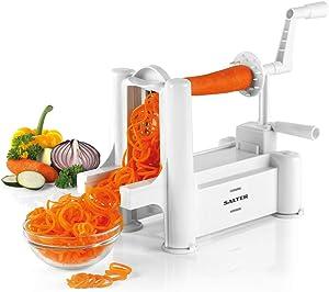 Salter Bw04294 Multi-Purpose 3-Blade Fruit And Vegetable Spiralizer, White