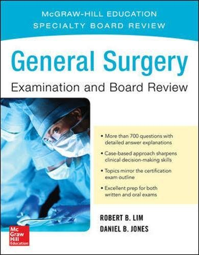 General Surgery Examination and Board - Surgery Board General