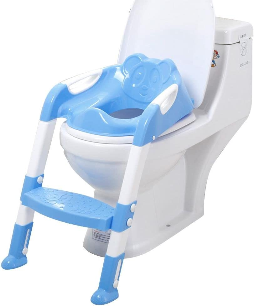 Eternitry Abgestufter Toilettensitz F/ür Kinder rutschfeste Klappbare Toilettenleiter