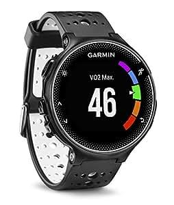 Garmin Forerunner 230 230-Reloj de carreja con GPS y Funciones de conexion, Color Blanco, Regular, Unisex Adulto, Negro, Talla Única