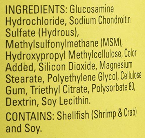 Nature Made TripleFlex - Glucosamine Chondroitin and MSM - 4 Bottles, 170 Caplets Each