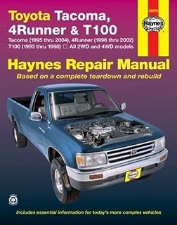 toyota tacoma 1995 2004 4runner 1996 2002 t100 1993 1998 rh amazon com 1993 toyota pickup factory service manual 94 Toyota Pickup