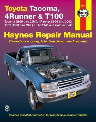 TOYOTA TACOMA (1995-2004), 4RUNNER (1996-2002) & T100 (1993-1998)(Haynes Repair Manual) New edition by Freund, Ken (2007) Paperback