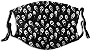 Kids Adult Anti-Dust Face Mouth Mask Rain of Ghostface Adjustable Sport Outdoor Mouth Cover Balaclava