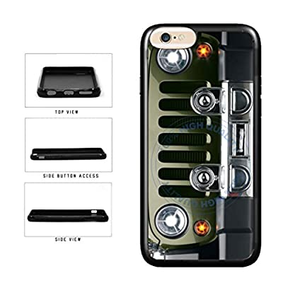 BleuReign(TM) SUV Car Bumper Grill TPU RUBBER SILICONE Phone Case Back Cover For Apple iPhone 8 and iPhone 7