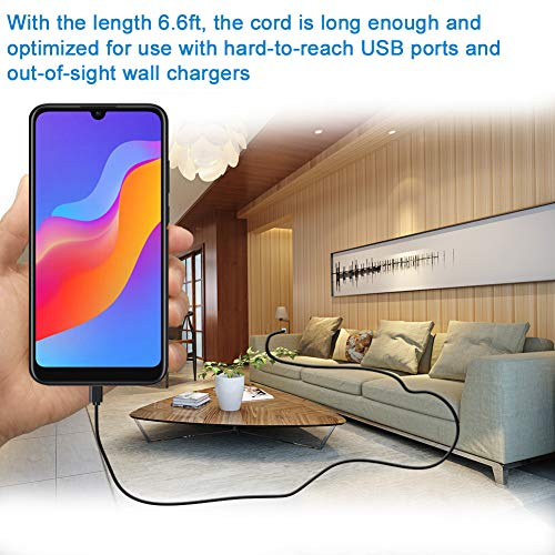 6 FT Micro USB Cable, Fast Android Charging Cord for Samsung,Fire Tablet,Kindle eReaders,HTC,Nokia, Sony,Motorola,TV Stick Mini Quick Charger,PS4,XBox One Controller,Galaxy S7 S6 Edge,wireless speaker