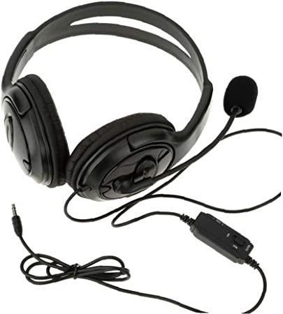 con Cable Estéreo del Juego De Auriculares con Micrófono para Playstation 4 Ps4: Amazon.es: Hogar