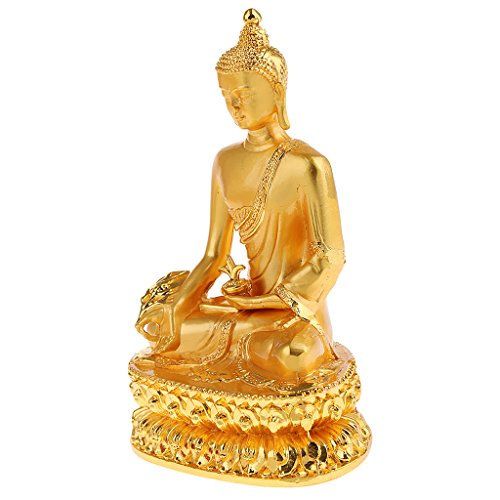 - Baoblaze Natural Buddha Statue Figurine Hand Carved Sculpture Bless Health Home Decor