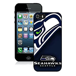Seattle Seahawks 07 Black iPhone 5S Screen Phone Case Attractive and Newest Design