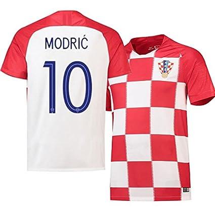 クロアチア代表 サッカーユニフォーム ワールドカップ ユニフォーム 3点セット (XL, 数字10番)