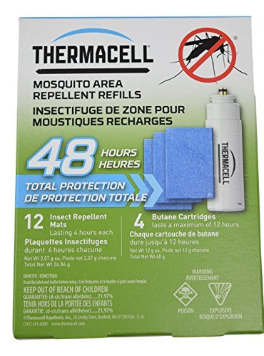 Thermacell Mosquito Area Repellent Refills, 48 Hours