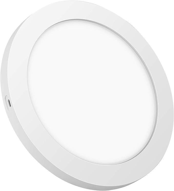 intensit/é Variable /à 3 Vitesses avec t/él/écommande /Ø58 * H20cm Classe /énerg/étique A ++ Blanc Lampe de Ventilateur de Chambre /à Coucher Ultra-silencieuse Ping Plafonnier Moderne /à LED