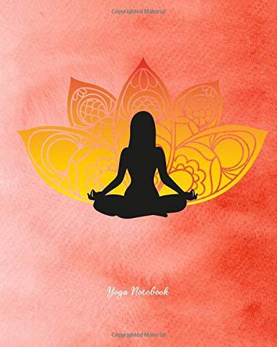 Yoga Notebook: Yoga Namaste Gift Appreciation Note Book Pad ...