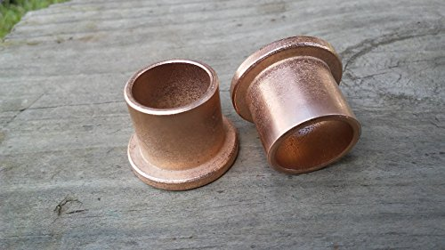 2pc discount bushings fb 1012 6 5 8x 3 4 x 3 4 flanged bronze