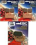 EBC Double HH Front + Rear Brake Pads (3 Sets) 2004-2006 Yamaha R1 / FA380HH + FA174HH