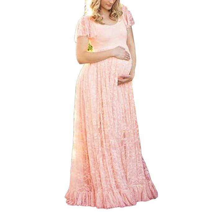 Vestido de maternidad de la fotografía, vestido embarazado de manga ...