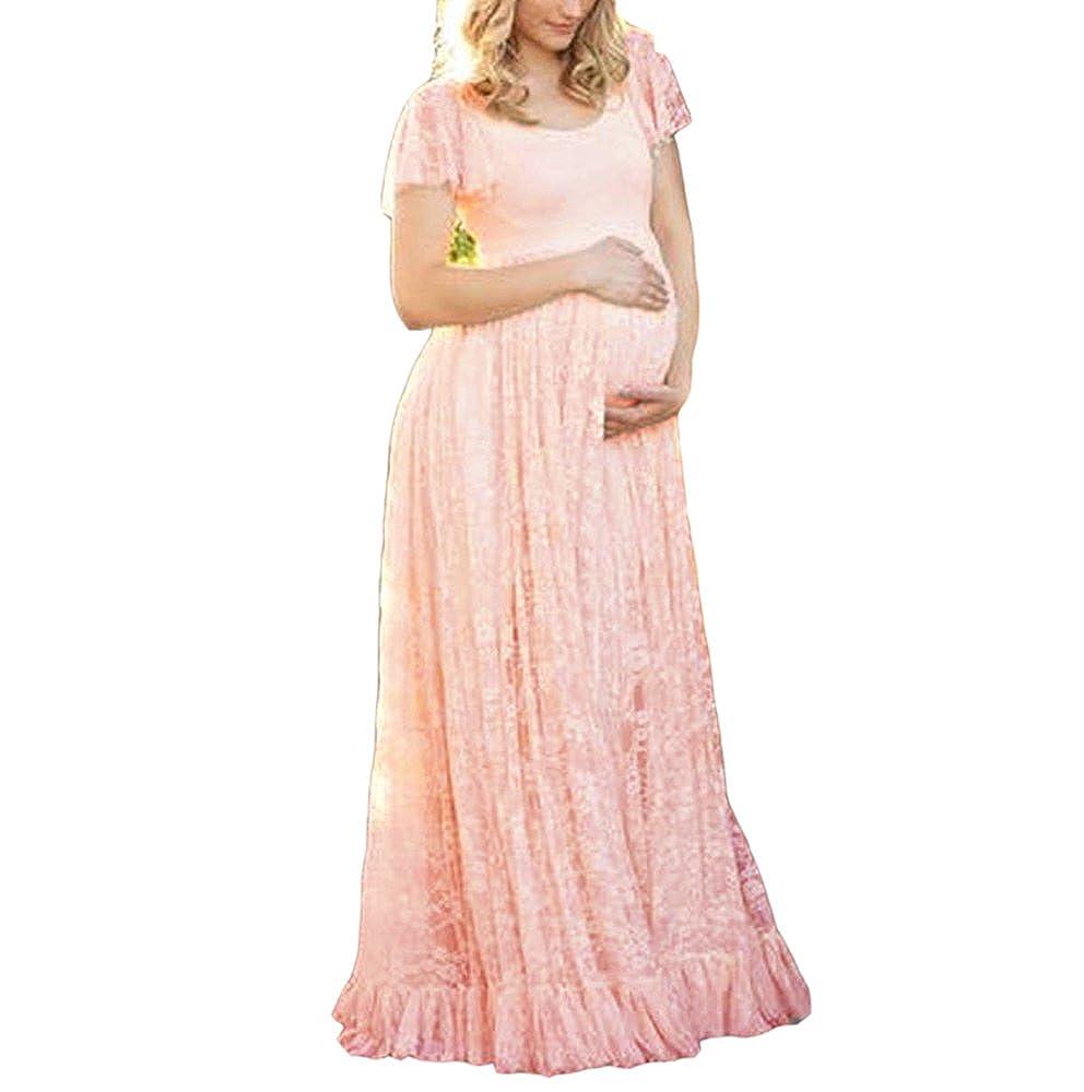 Donna Incinta Dress famesale Fotografia Abito di maternit/à maternit/à Servizio Fotografico di Scena Abiti Maxi Gravidanza