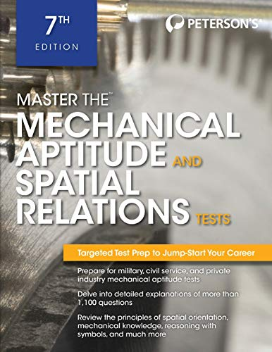 Pdf Test Preparation Master The Mechanical Aptitude and Spatial Relations Test (Peterson's Master the Mechanical Aptitude & Spatial Tests)
