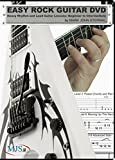 Easy Rock Guitar DVD: Heavy Rhythm and Lead Guitar Lessons: Beginner to Intermediate