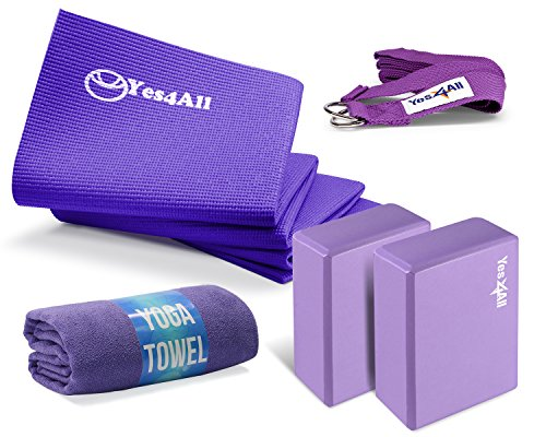 Yes4All PVC Yoga Kit - Purple - ²RKVAZ