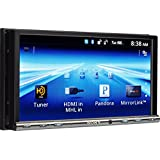 Sony GS Series XAV712HD Video Receiver with Double DIN 7-Inch WVGA Touch Screen Display