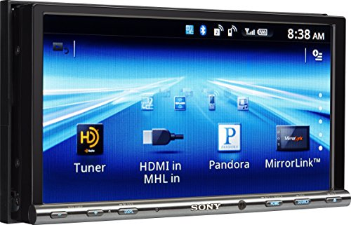 (Sony GS Series XAV712HD Video Receiver with Double DIN 7-Inch WVGA Touch Screen Display )