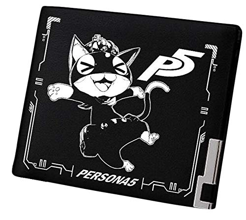 Gumstyle Persona Game Artificial Leather Wallet Billfold Money Clip Bifold Card Holder 5 (Wallet Game)