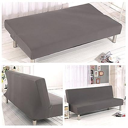 AimdonR - Funda de sofá Cama para Mascotas, Color sólido, Plegable, elástica,