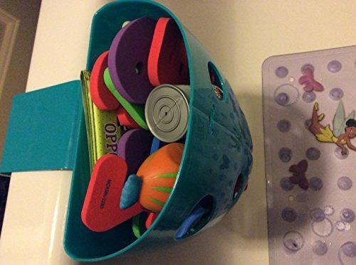 Chickadee Chicks Magnetic Bath Toy Storage Bin (Blue) - NO Suction Cups (Bin Cup Storage)