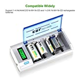 EBL Smart Battery Charger for C D AA AAA 9V Ni-MH