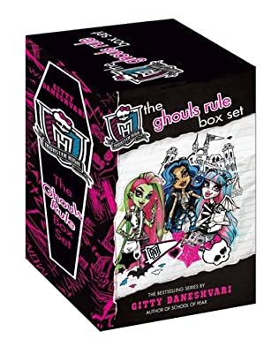 book cover of Monster High Ghouls Rule Box Set